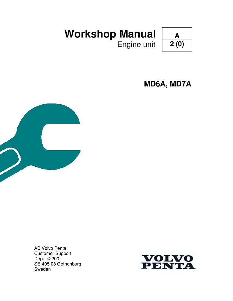 Volvo Md6a Md7a Workshop Manual | Volvo Md7a Wiring Diagram |  | L-36.com