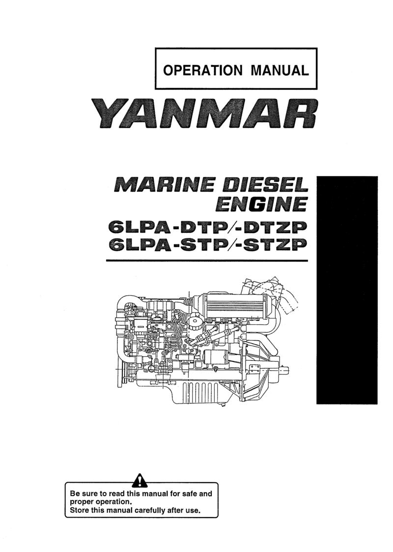 6lpa stzp: Yanmar Diesel Sterndrive Engine 315hp/232kw Bravo