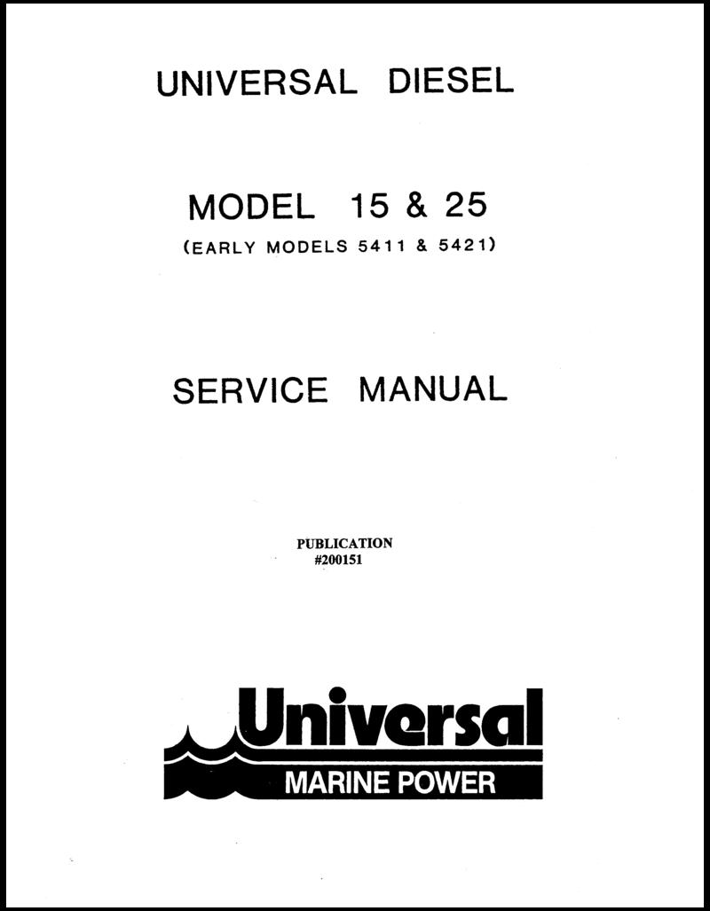 200151 M15 M25 5411 5421 Technical Man
