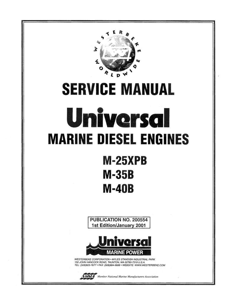 Universal sel M 35b Technical Manual on