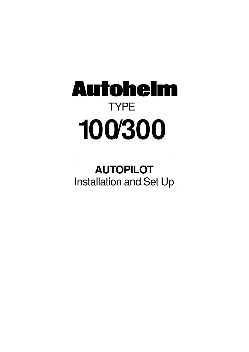 Autohelm Raymarine: T100 300cc 300cc Autopilot Course Computer'