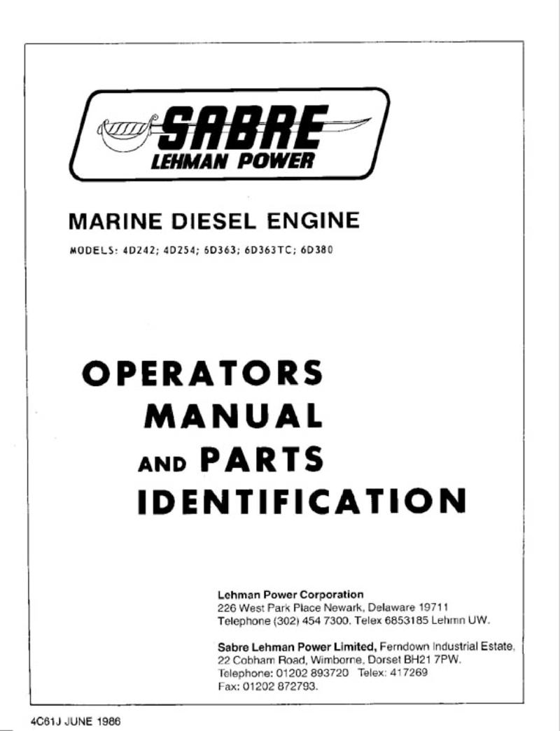 ford lehman workshop manual rh l 36 com ford lehman parts manual Ford Windstar Repair Manual