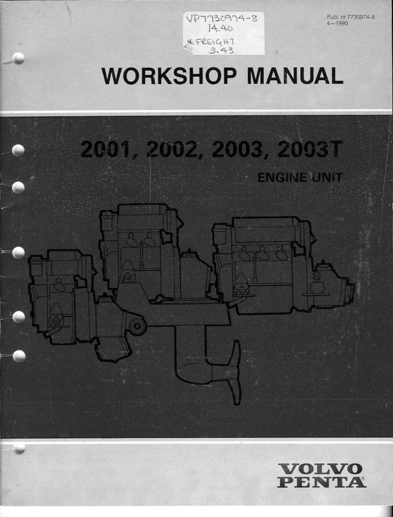 Volvo Penta 2002 Workshop Manual