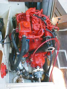 Repowering on Volvo Penta Diesel Engines