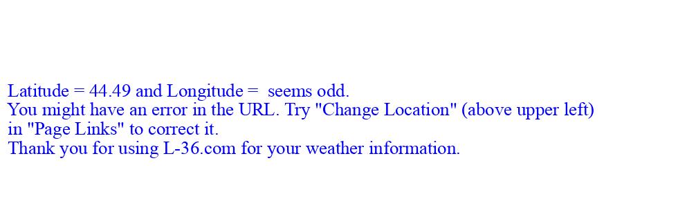 7 Day Forecast For Marine Location Near Burlington Vt